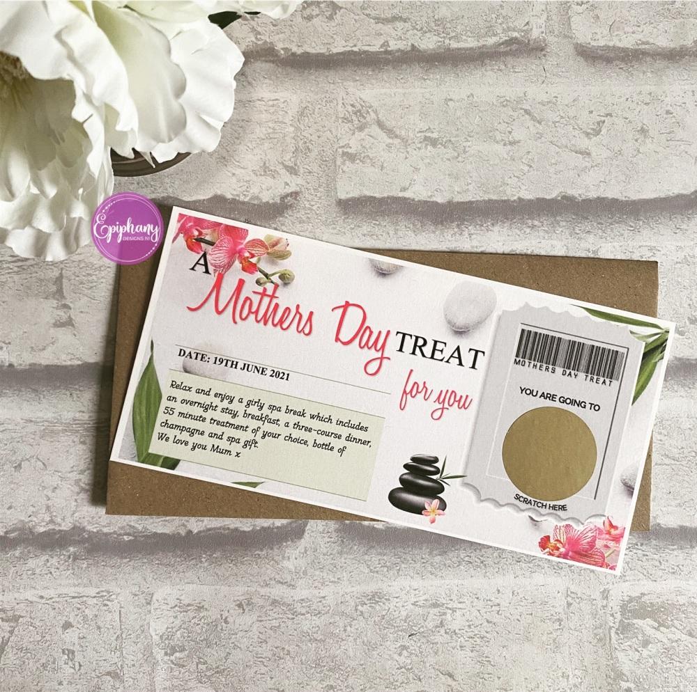 Mother's Day Scratch Surprise Voucher