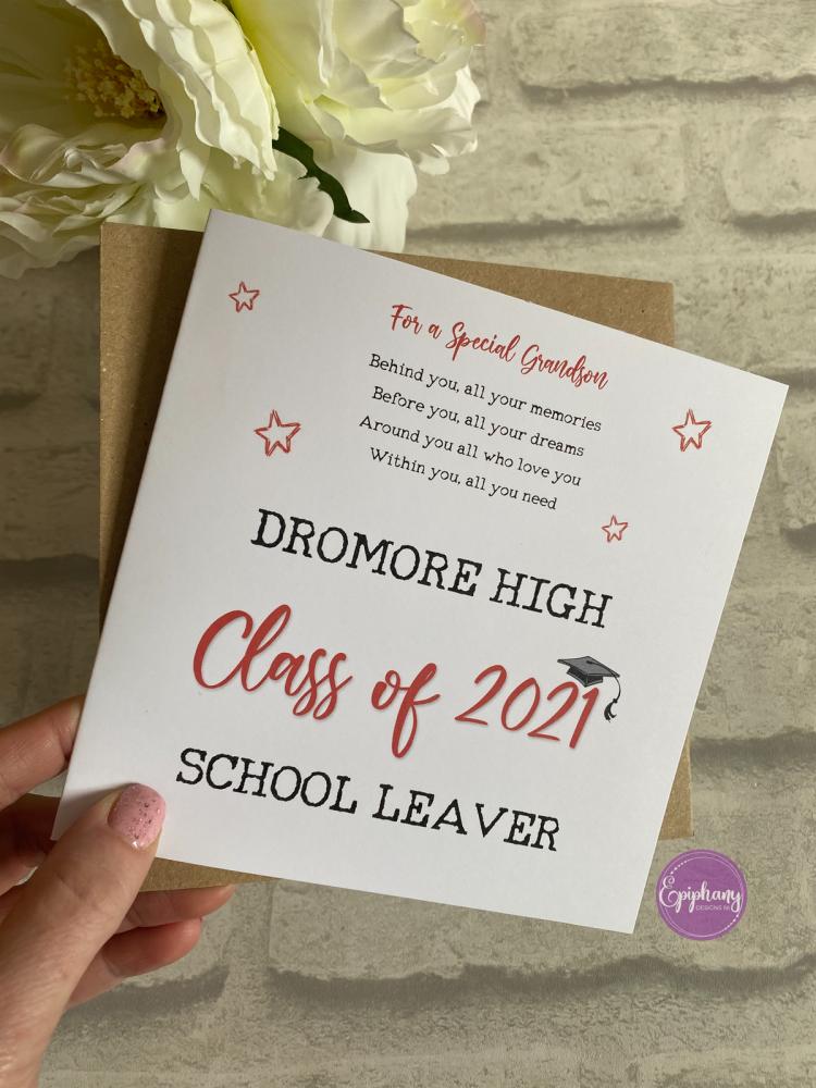 School Leaver Card - Class of 2021