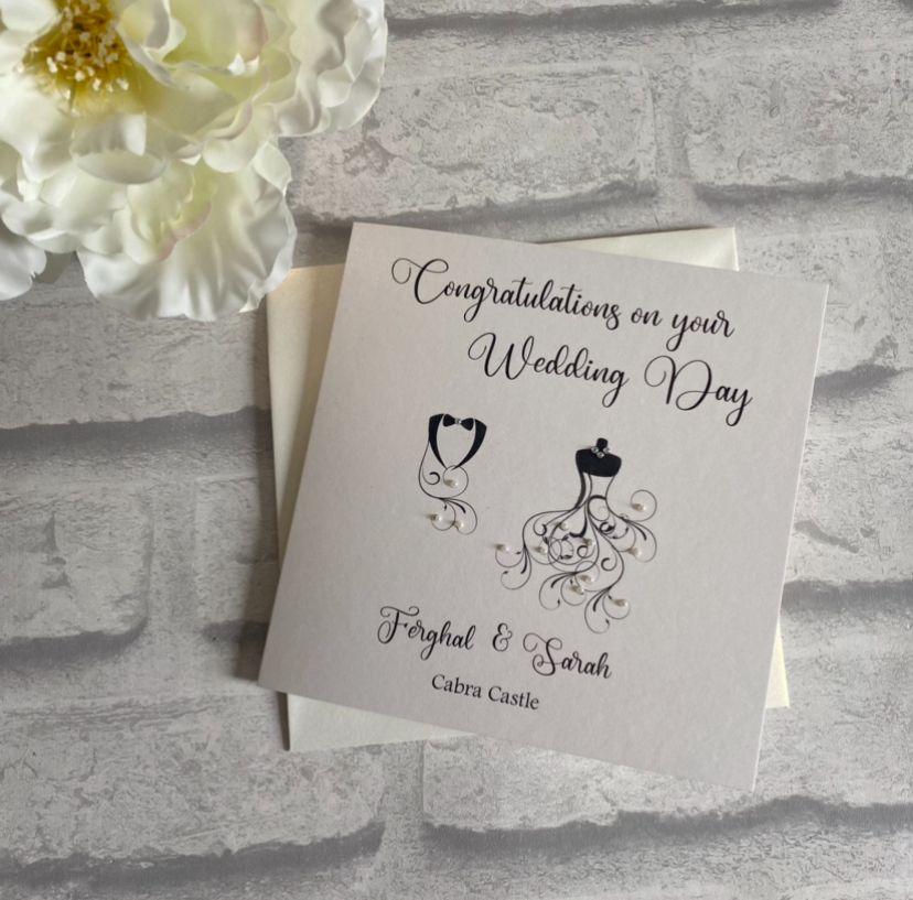Chic Boutique Range Wedding Day Congratulations