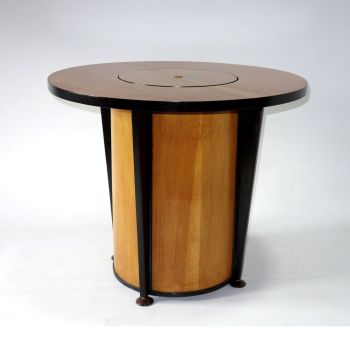 Art Deco 'surprise' drinks table cocktail bar 1940s