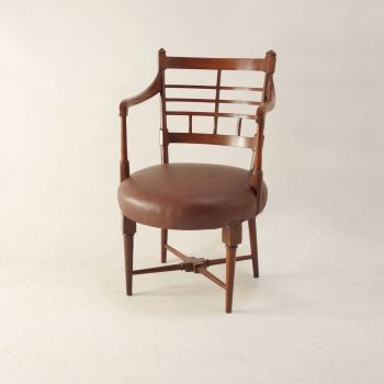 Arts and Crafts Jacobean Armchair by Edward William Godwin  SOLD