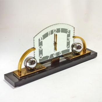 Art Deco Modernist Mantel clock 24inch  Circa 1930s