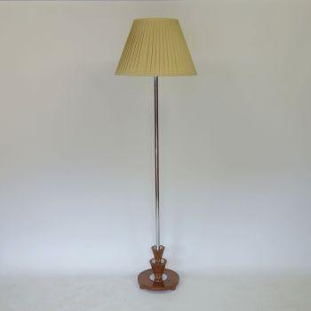 Art Deco Chrome Standard lamp.