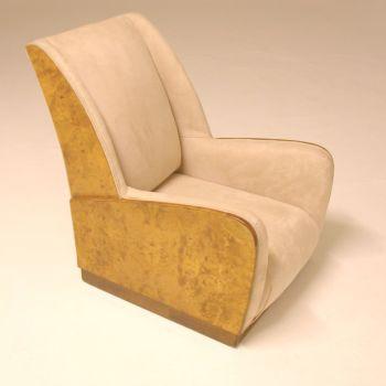 Art Deco Armchair  Circa 1930.