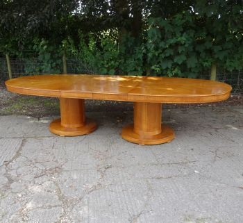 Art Deco Dining-Board Room Table By Waring and Gillow Circa 1930s SOLD