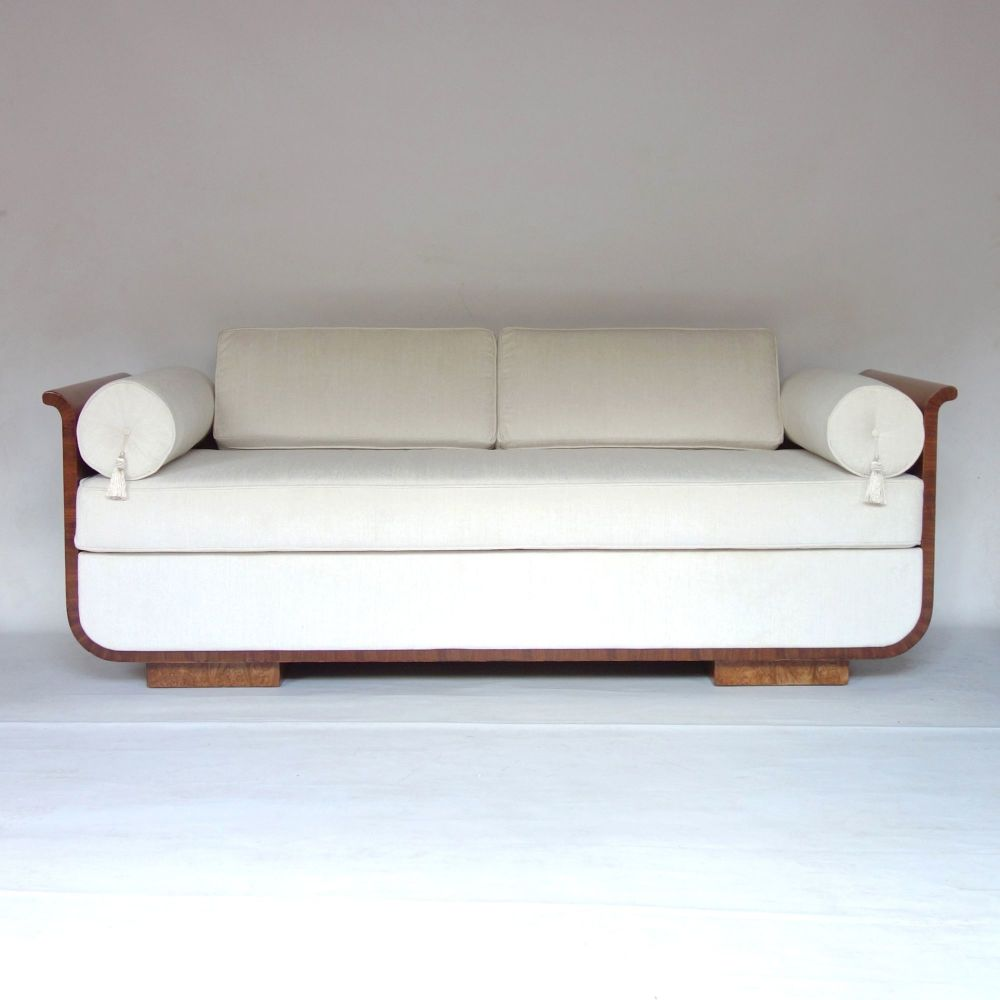 Art Deco Daybed Sofa