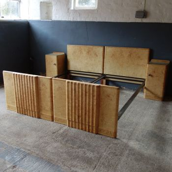 Art Deco Epstein Beds and Bedside cabinets.