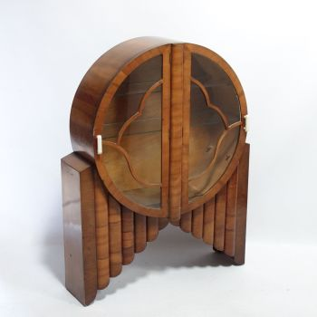 Art Deco Circular Rocket display Cabinet 1930s SOLD