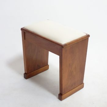 Art Deco Piano stool English 1930s