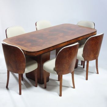 Art Deco Dining suite H&L Epstein 1930's SOLD