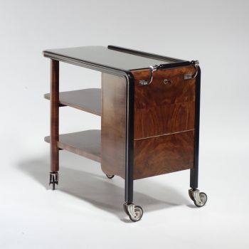 Art Deco Drinks Cocktail Trolley Circa 1930