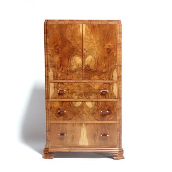 Art deco Tallboy Chest of Draws 1930's. SOLD