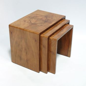 Art Deco Nest of Tables by Hille