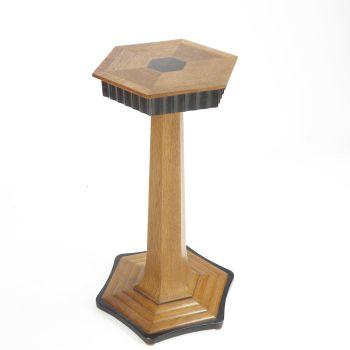 Art Deco Pedestal Table circa 1930