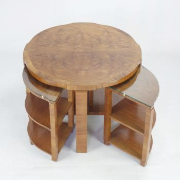 Art Deco Nest of Tables by Harry & Lou Epstein. SOLD