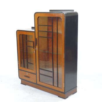 Art Deco Display Cabinet  Bookcase 1930's SOLD