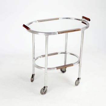 Art Deco Drinks Trolley with removable Tray 1930's   SOLD