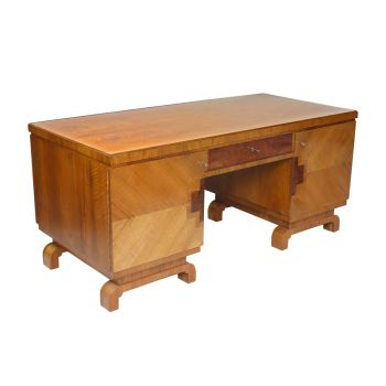 Art Deco Desk German Circa 1930 SOLD