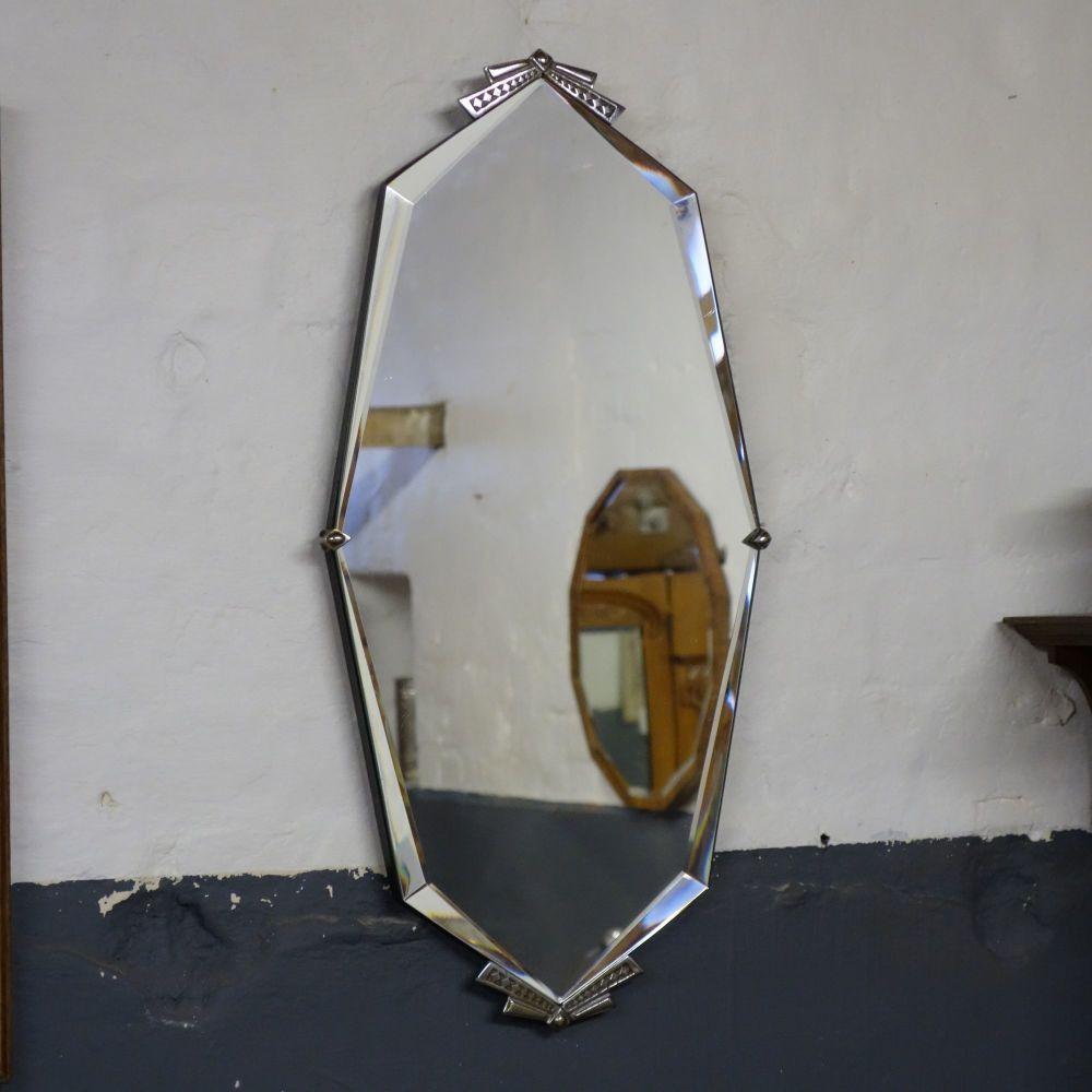 Art Deco Octagonal mirror 1930's