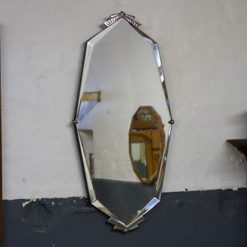 Art Deco 8 sided mirror 1930's SOLD
