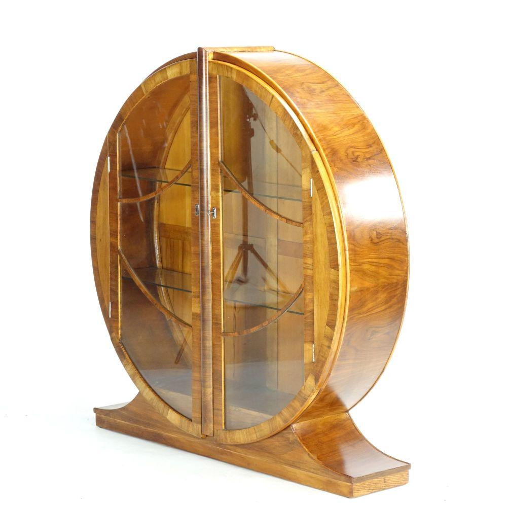 Art-Deco-round-Cabinet-side