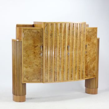 Art Deco Cabinet by H & L Epstein circa 1930  SOLD