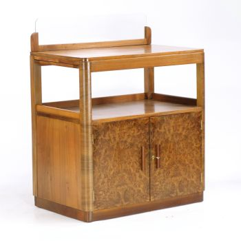 Art Deco Server/Sideboard in Walnut 1930's RESERVED