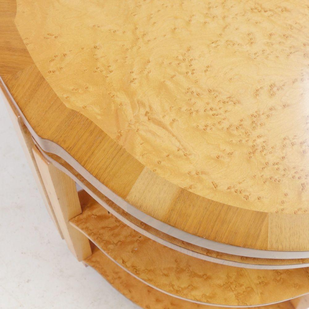 Art-Deco-Nest-table-Maple