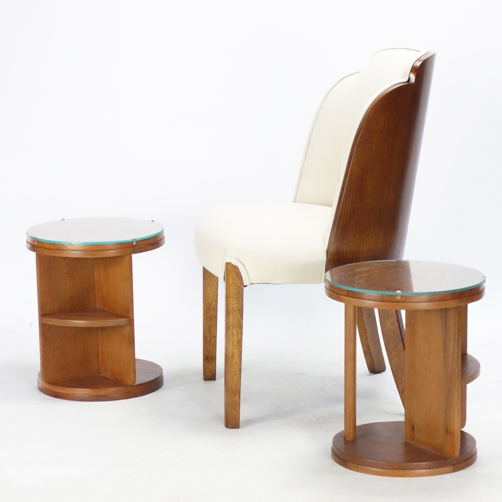 art-deco-side-tables-chair
