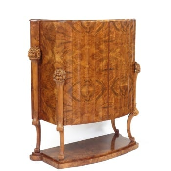 Art Deco Tail Cabinet By H And L Epstein