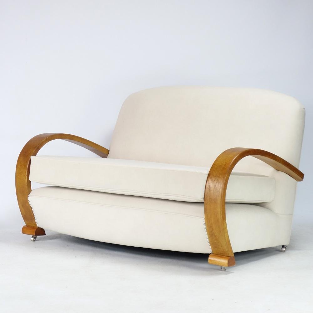Art-Deco-Two-Seat-Sofa