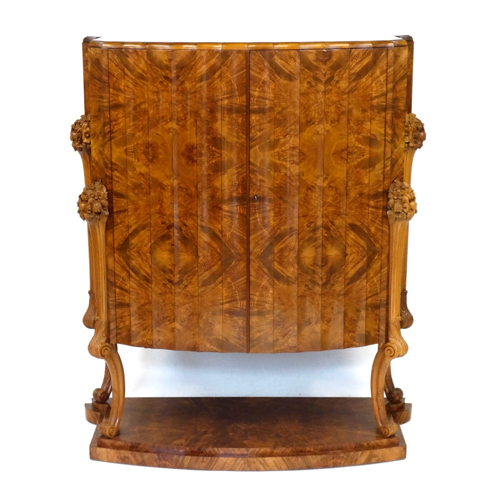 Art Deco Cocktail Cabinet by H and L Epstein.