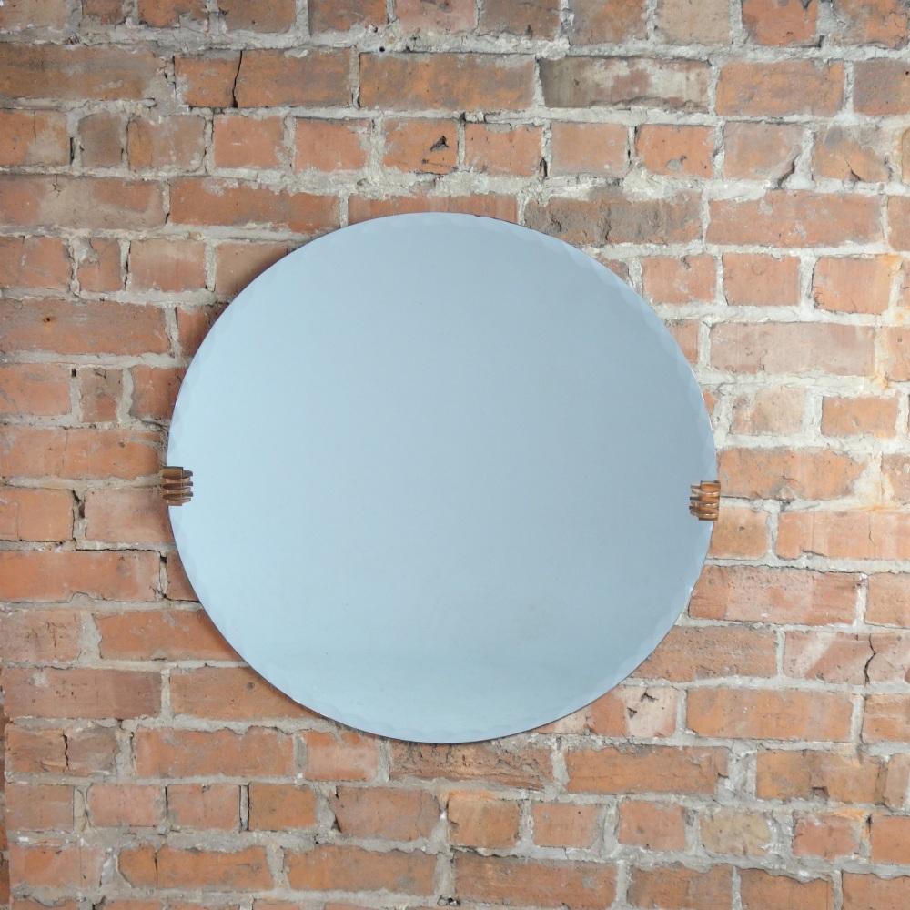 Art Deco Circular Wall Mirror 1930's