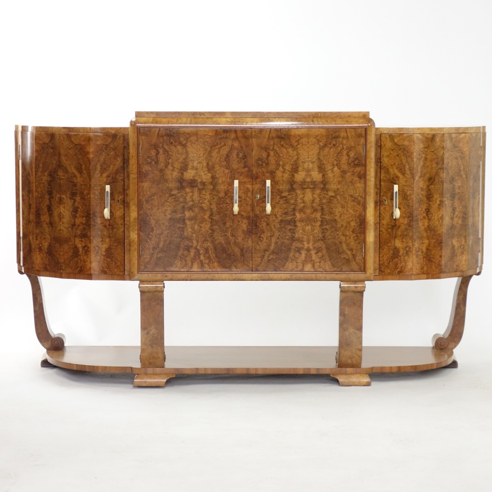 Art Deco Sideboard by S.Hille
