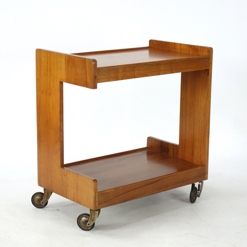 Art Deco Dinner trolley by Gerald Summers c1939.