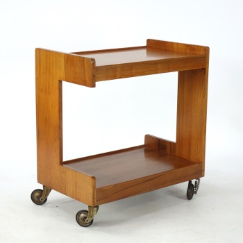 Modernist Dinner trolley by Gerald Summers c1939. SOLD