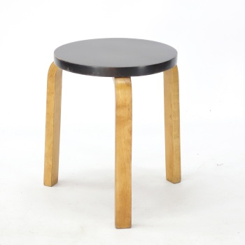 Art Deco Model 60 Stool by Alvar Aalto, 1930s SOLD