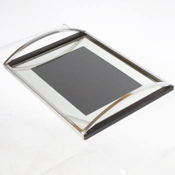 Art Deco Chrome Mirrored Cocktail Tray 1930's SOLD