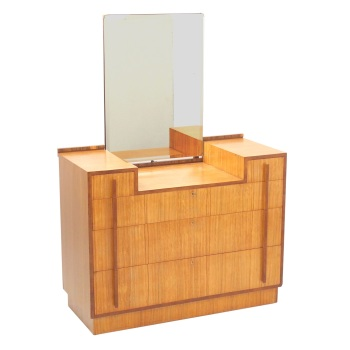 Art Deco Chest of Draws with Mirror Probably Heals SOLD