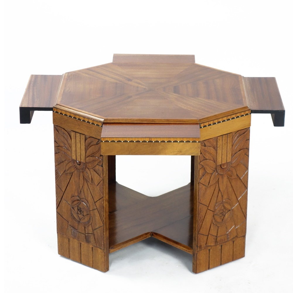 Art Deco Book/centre Table by Paul le Morvan