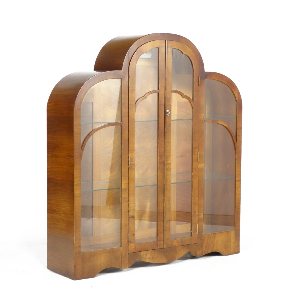 Art Deco Cloud Display Cabinet 1930's