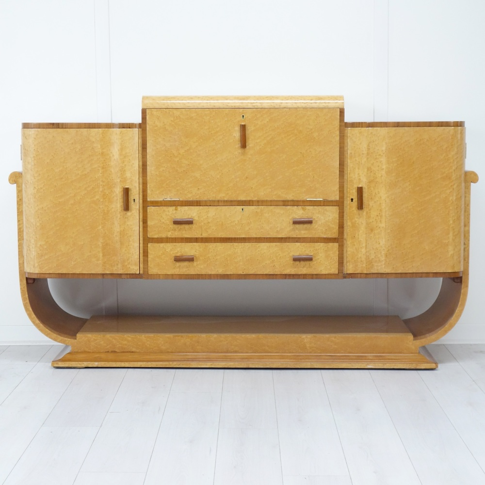 Art Deco Cocktail Cabinet/Sideboard from H and L Epstein.