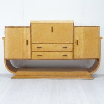 Art Deco Cocktail Cabinet/Sideboard from H and L Epstein.  SOLD