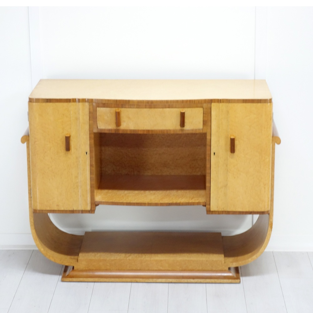 Art Deco Console table / sideboard from H&L Epstein 1930's