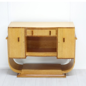 Art Deco Console table / sideboard from H&L Epstein 1930's RESERVED.