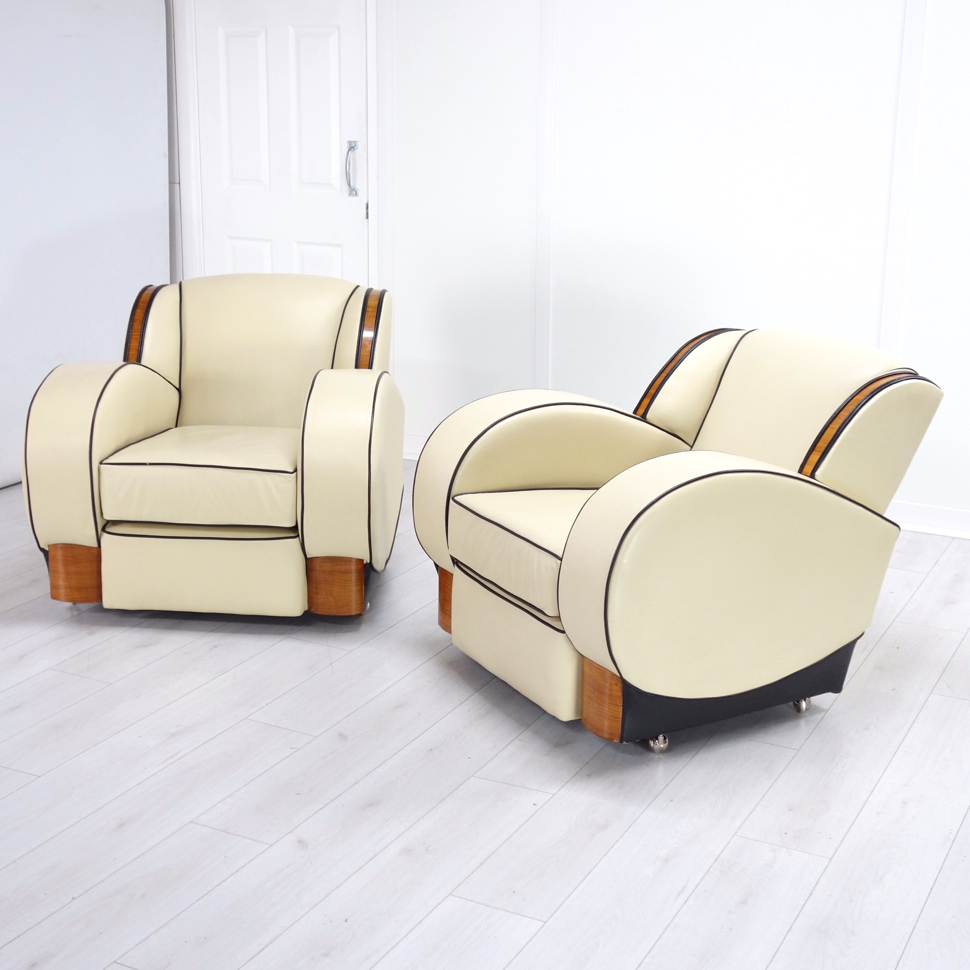 Art Deco Tank Chairs
