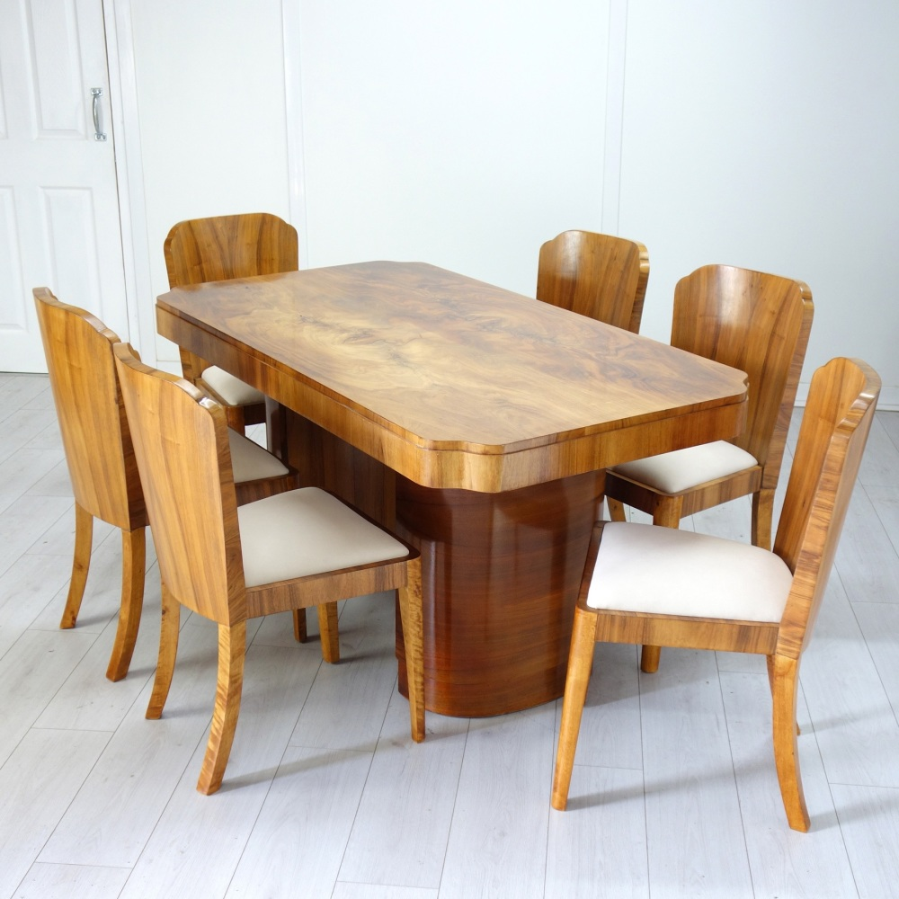 Art Deco Dining suite by H&L Epstein
