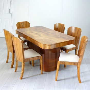Art Deco Dining suite by H&L Epstein SOLD