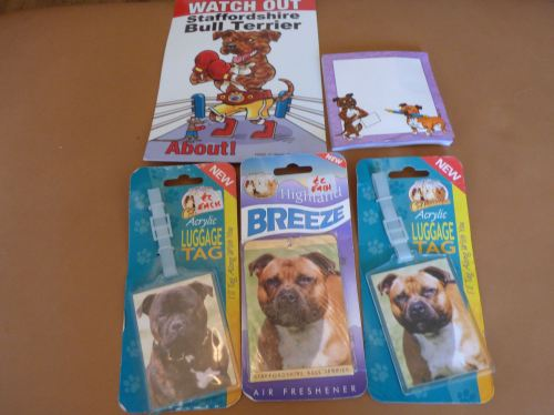 Staffordshire Bull Terrier Lovers Bundle