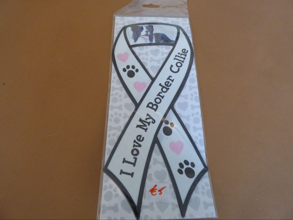 Border Collie - Carboot Ribbon